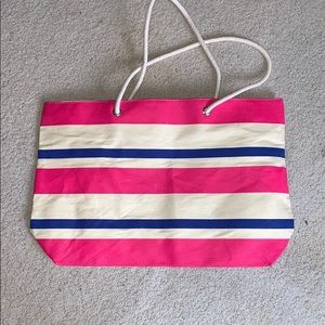 Large Striped Tote
